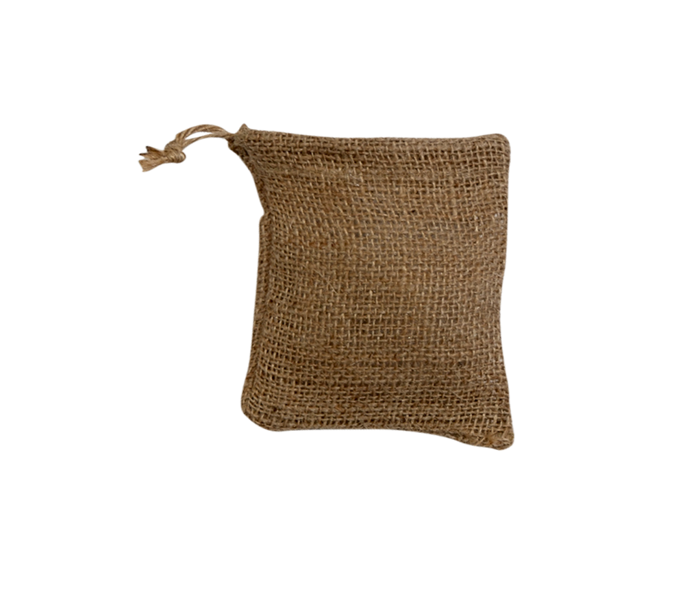 Home BURLAP BAGS BAG WITH A DRAWSTRING 8 X 10