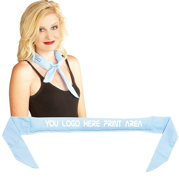 COOLNECKWEAR LIGHT BLUE